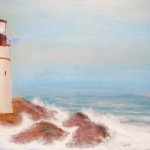 Gordon Campbell, A Lighthouse and the Sea