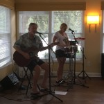 Pamlico Joe and Clean Water Flow playing for Assisted Living residents.