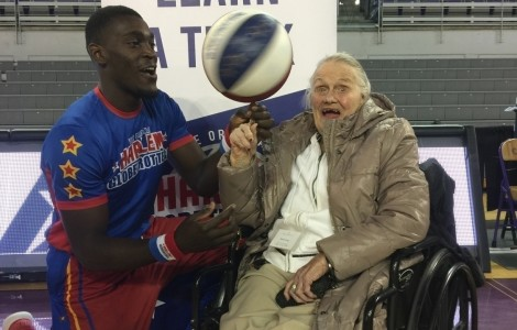 Ballin' with the Globetrotters